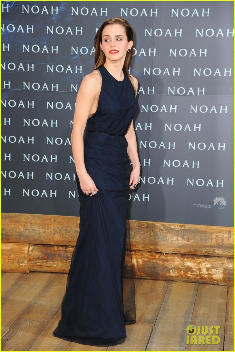 emma watson begins noah press tour premieres the film in berlin 083071311