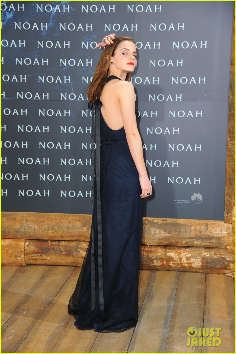 emma watson begins noah press tour premieres the film in berlin 093071312