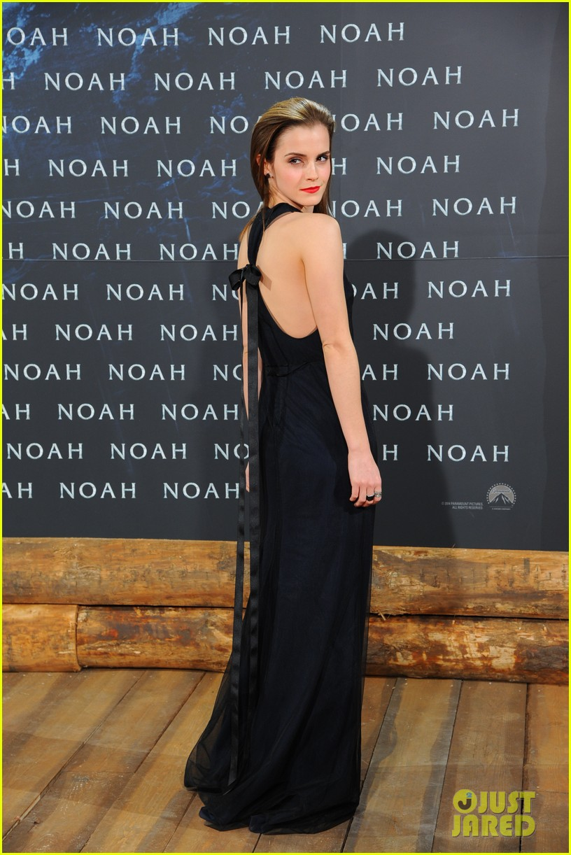 emma watson begins noah press tour premieres the film in berlin 103071313