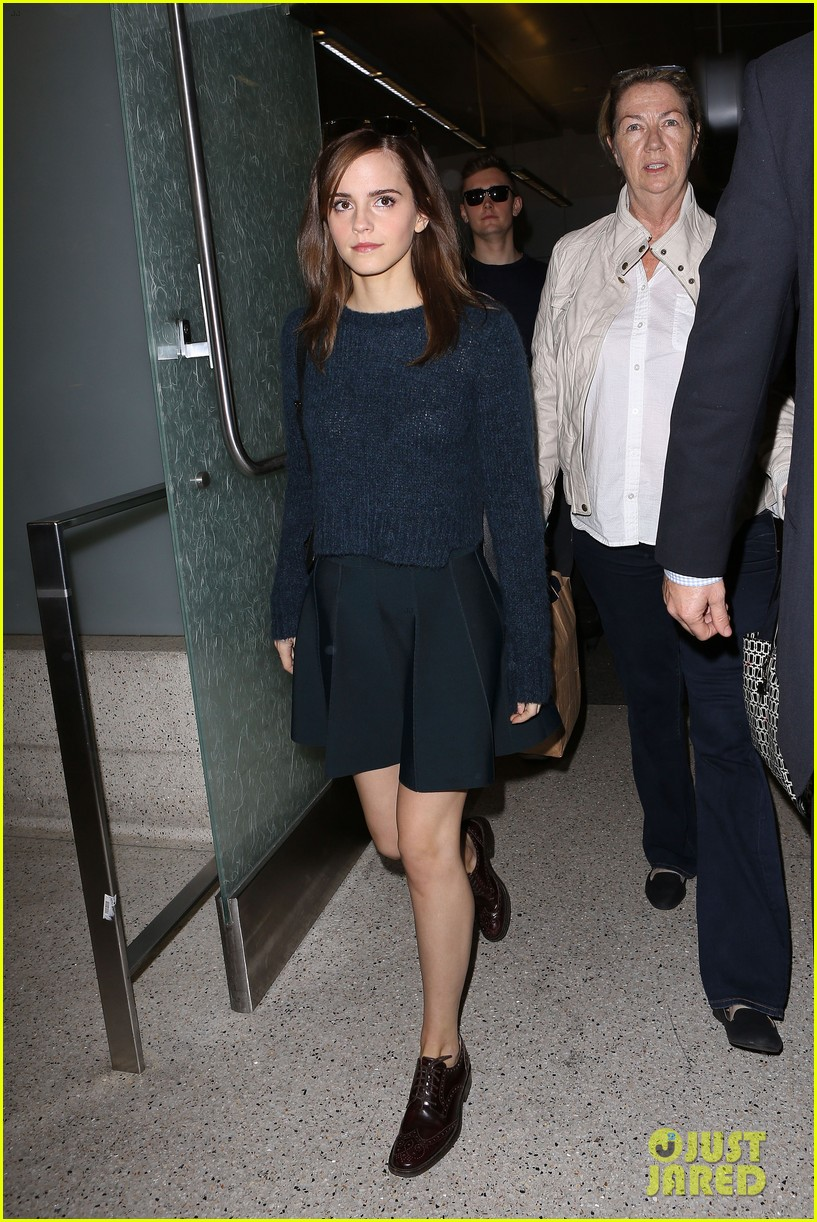 emma watson arrives in los angeles for noah premiere 023074704