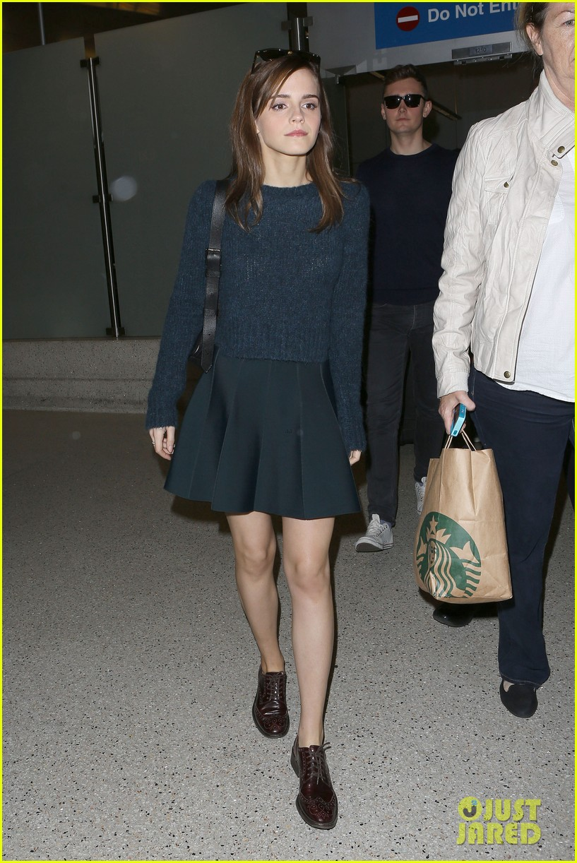 emma watson arrives in los angeles for noah premiere 053074707