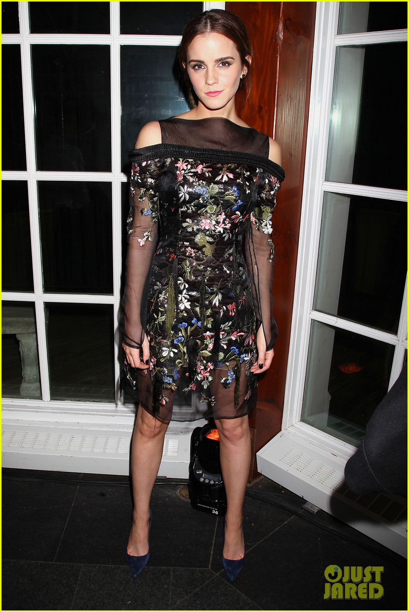 emma watson floral fierce noah nyc after party 013079341