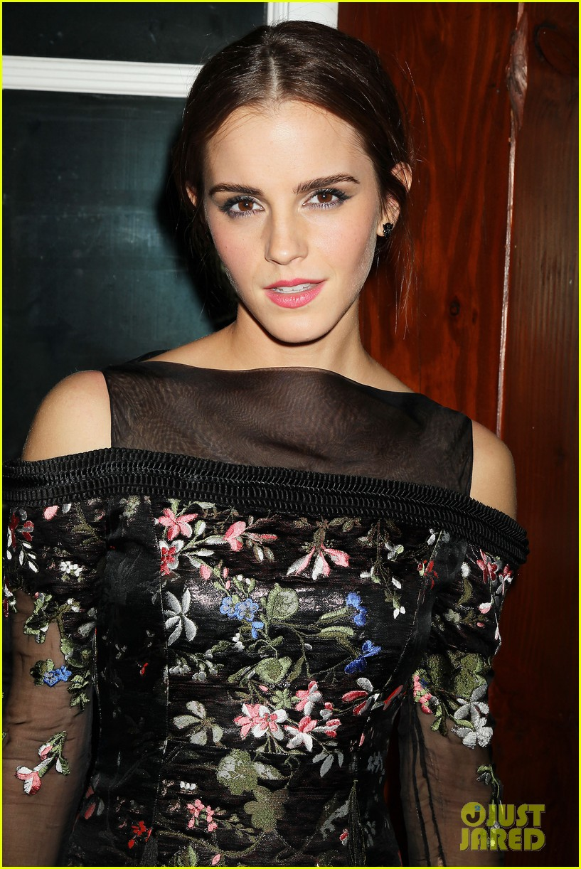 emma watson floral fierce noah nyc after party 153079355