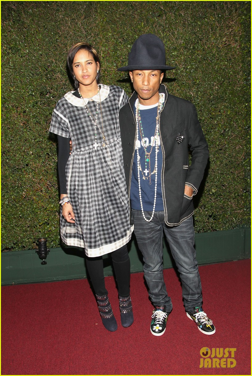 pharrell williams wife helen attend star studded moca gala 093081632