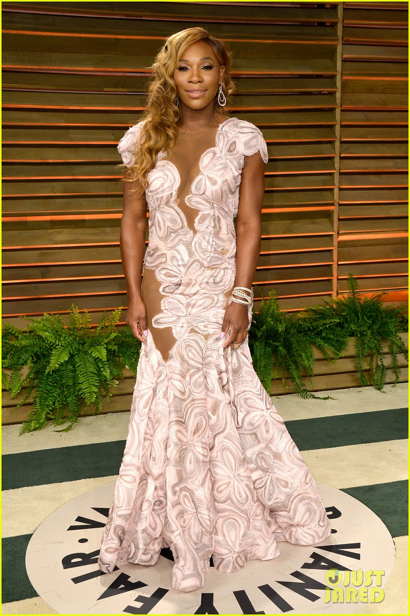 serena williams vanity fair oscars party 2014 033064491