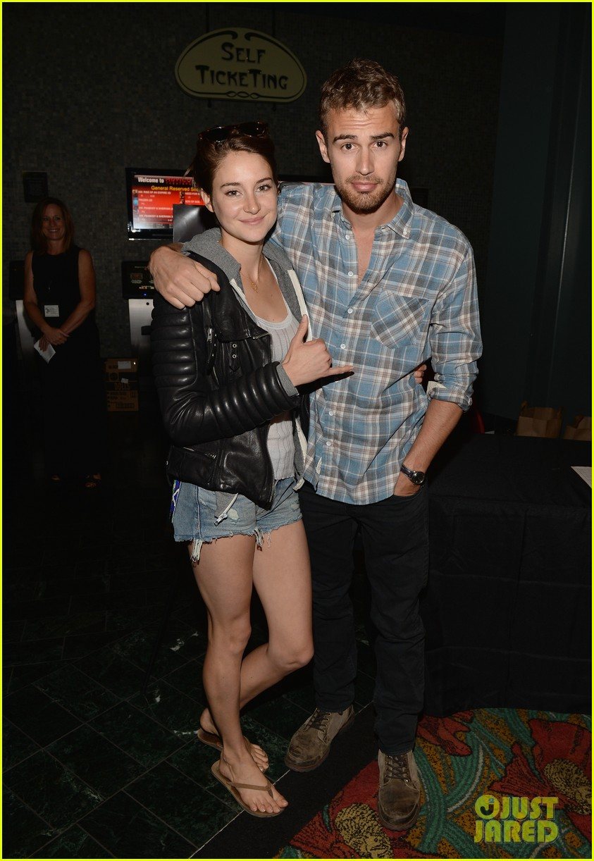 shailene woodley theo james all it takes divergent screening 013073775