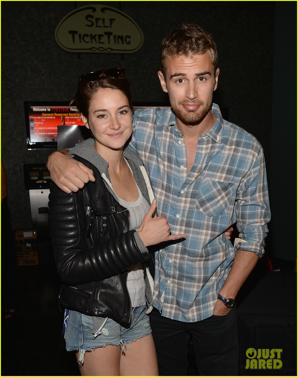 shailene woodley theo james all it takes divergent screening 043073778