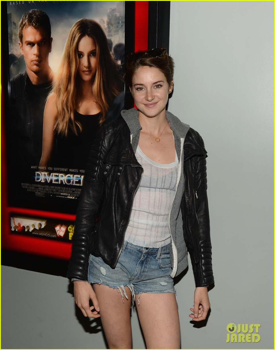 shailene woodley theo james all it takes divergent screening 073073781