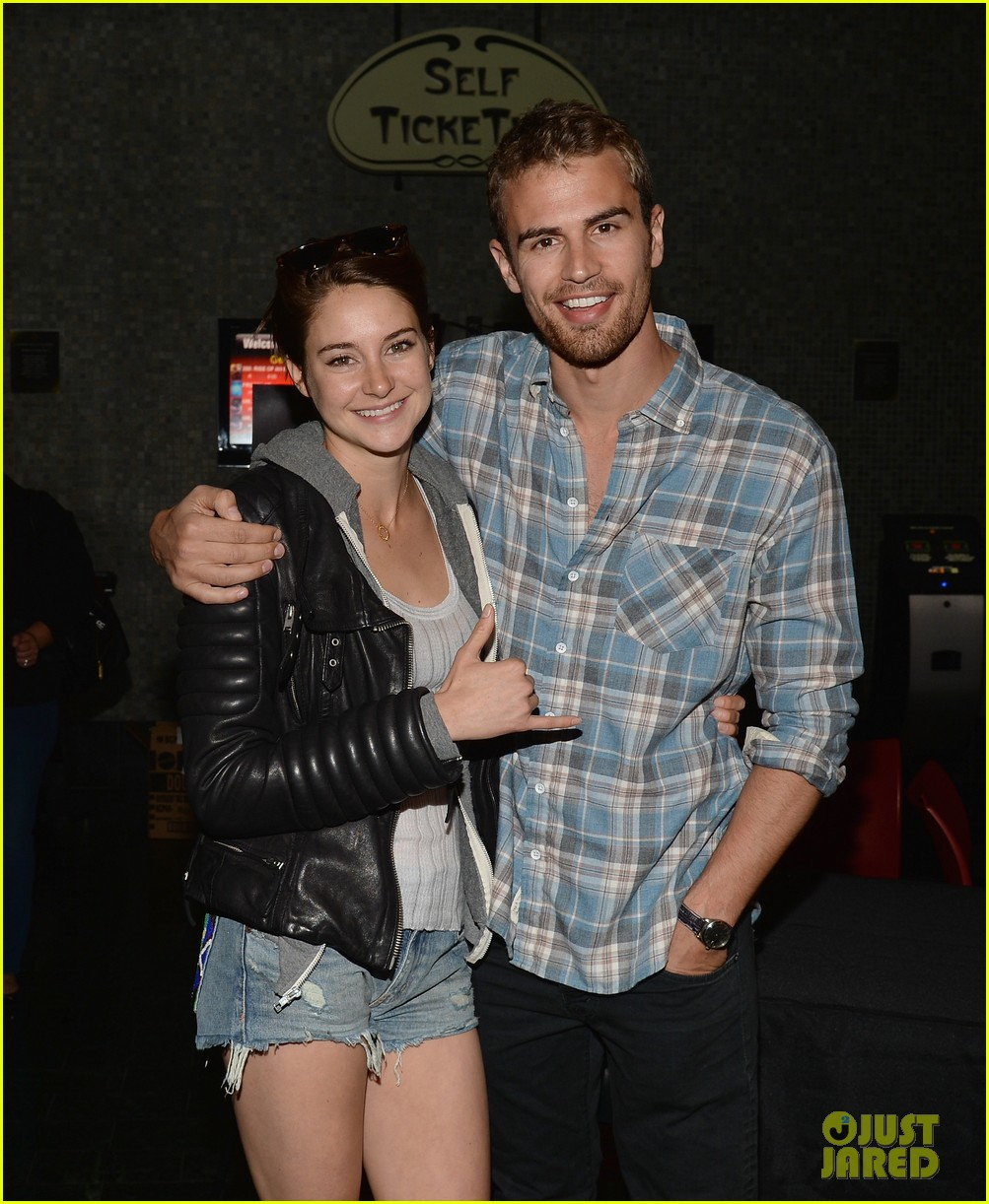 shailene woodley theo james all it takes divergent screening 103073784
