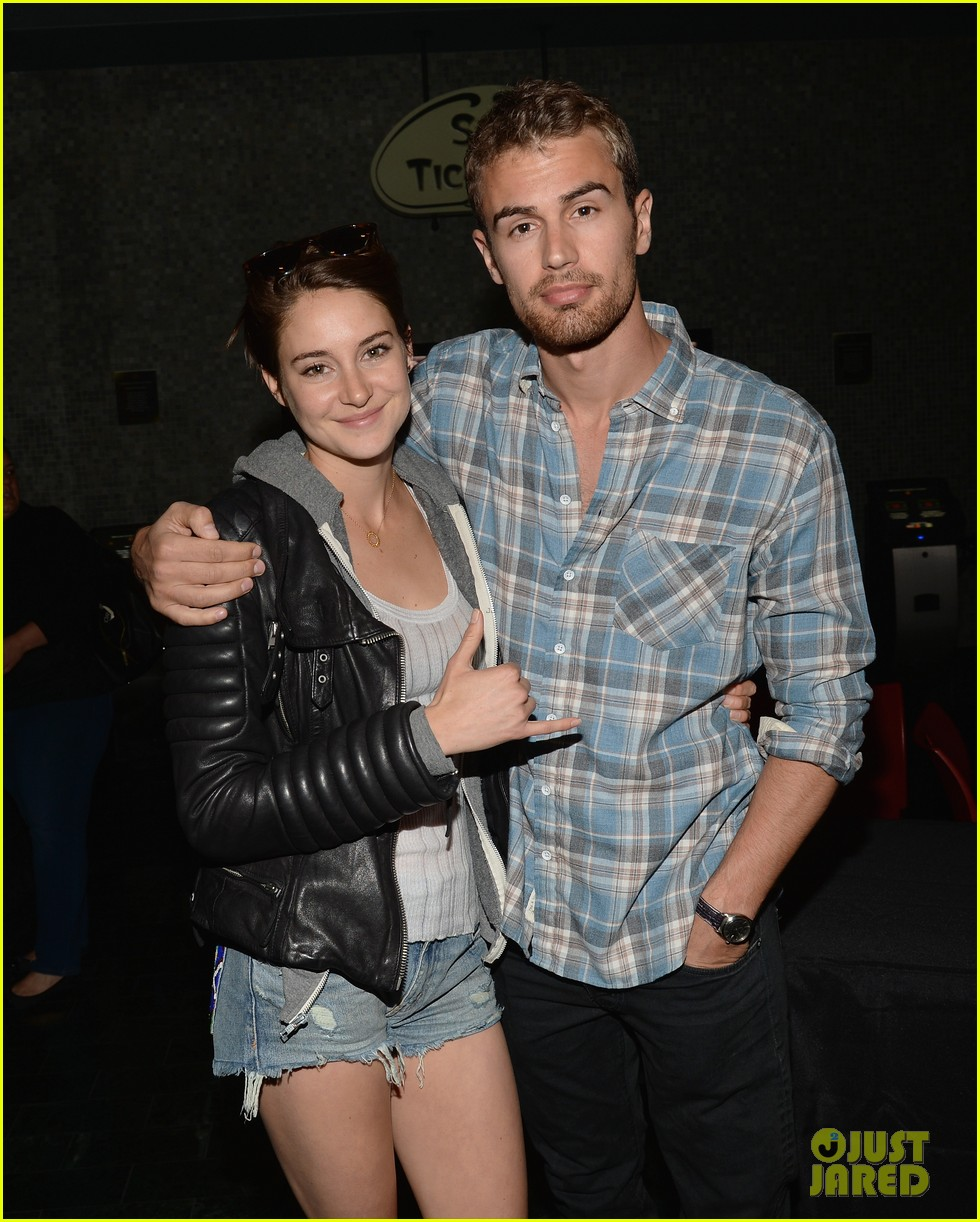 shailene woodley theo james all it takes divergent screening 113073785
