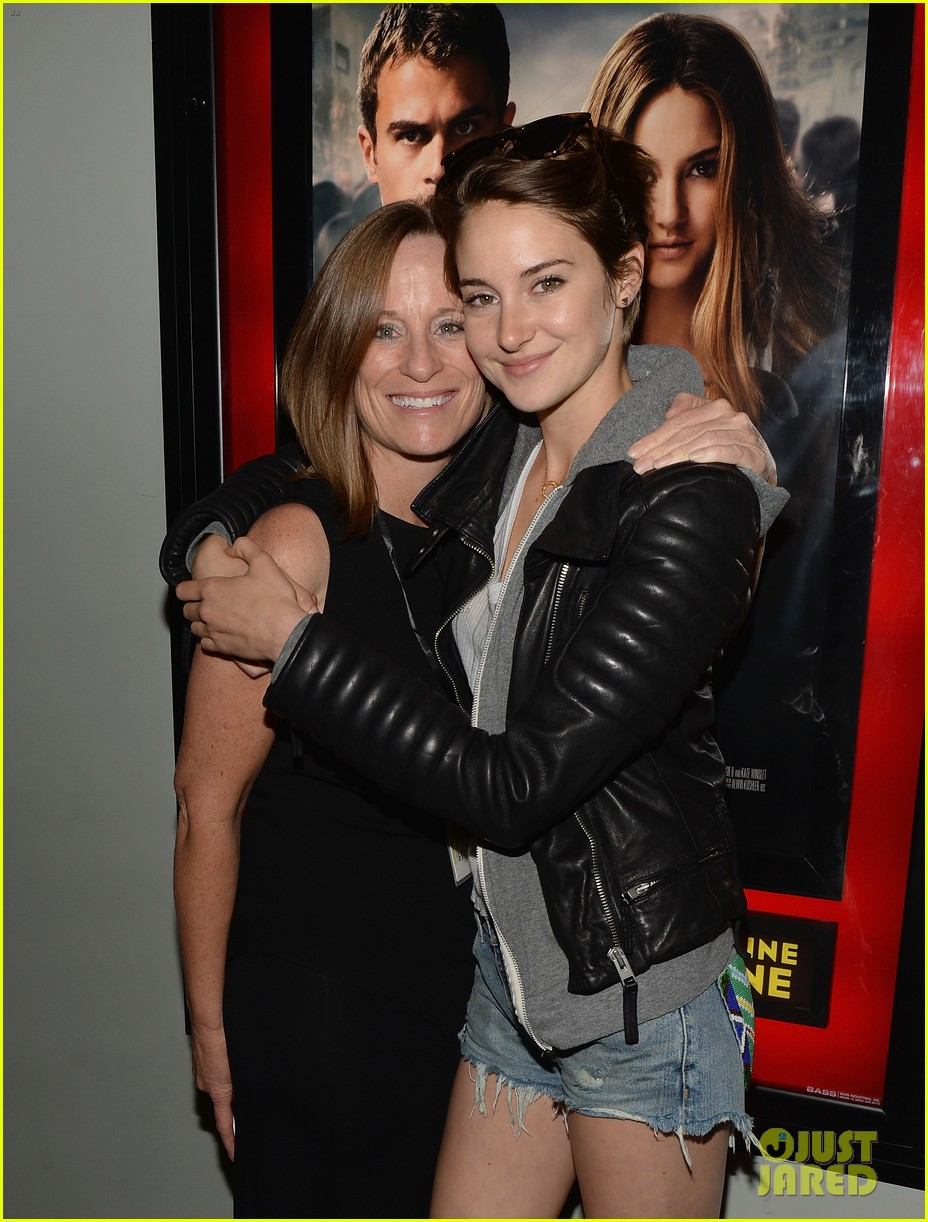 shailene woodley theo james all it takes divergent screening 123073786