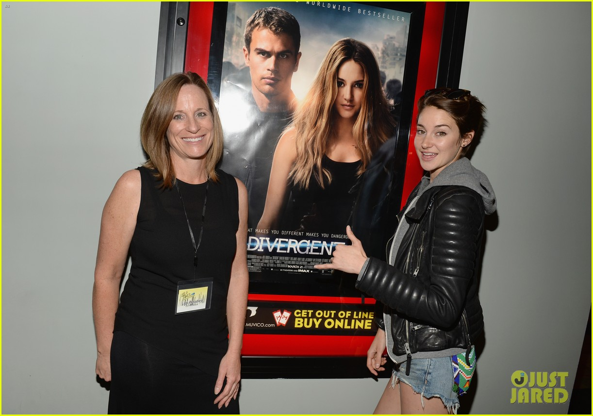shailene woodley theo james all it takes divergent screening 133073787