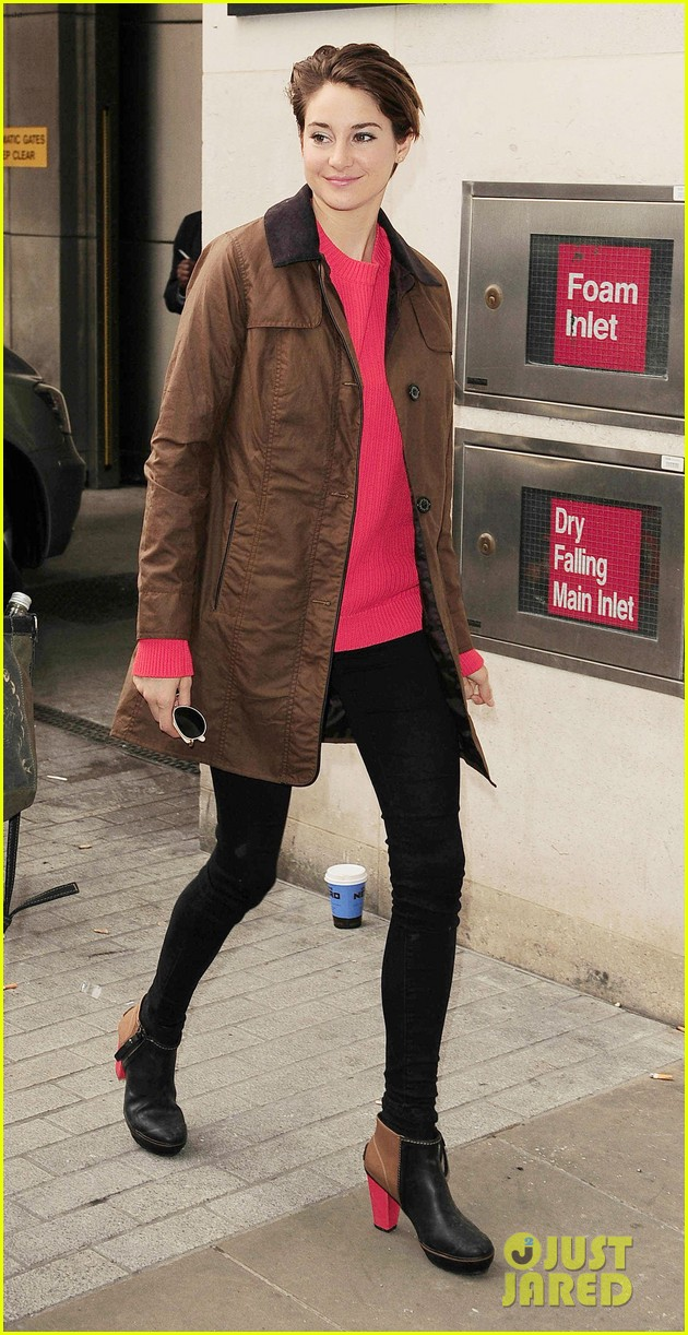 shailene woodley theo james divergent bbc radio one 133082254