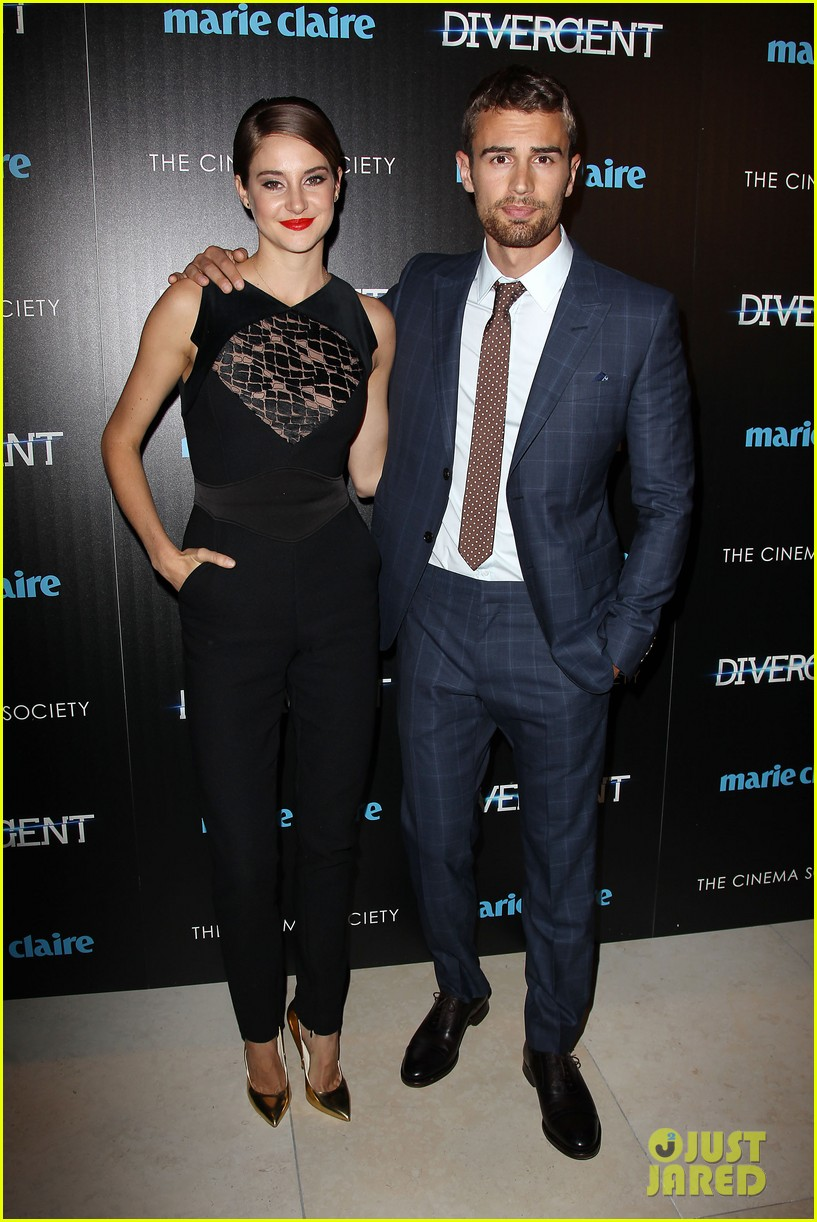Theo James Girlfriend 2014 Shailene woodley theo james