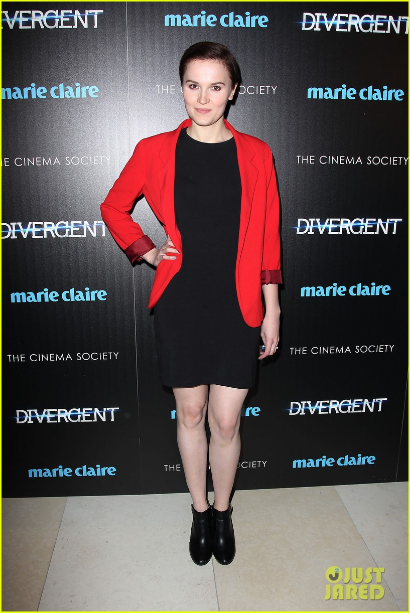 shailene woodley theo james divergent nyc screening 073075656