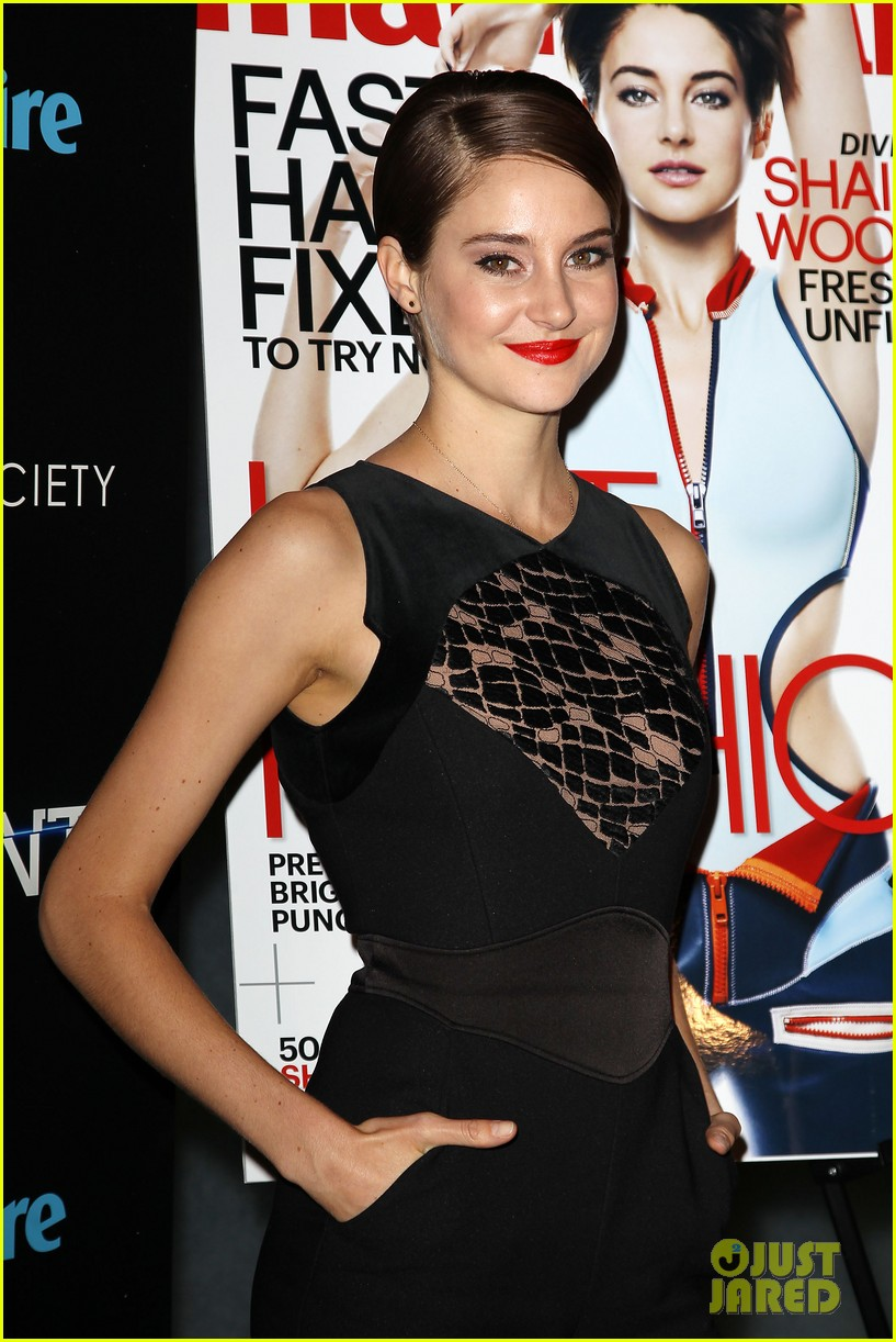 shailene woodley theo james divergent nyc screening 143075663