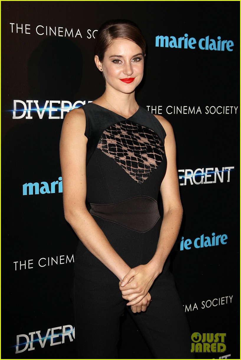 shailene woodley theo james divergent nyc screening 17