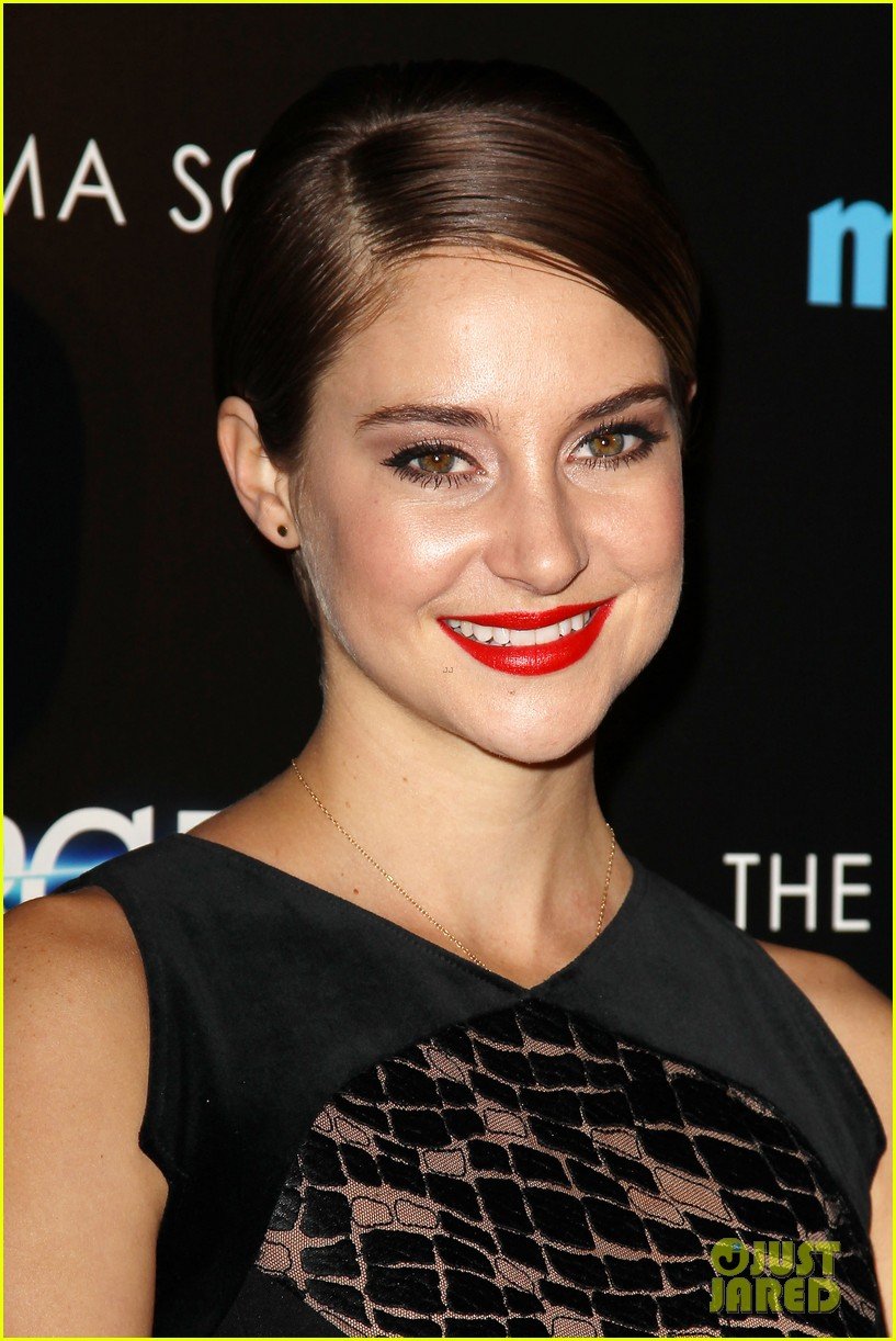 shailene woodley theo james divergent nyc screening 183075667