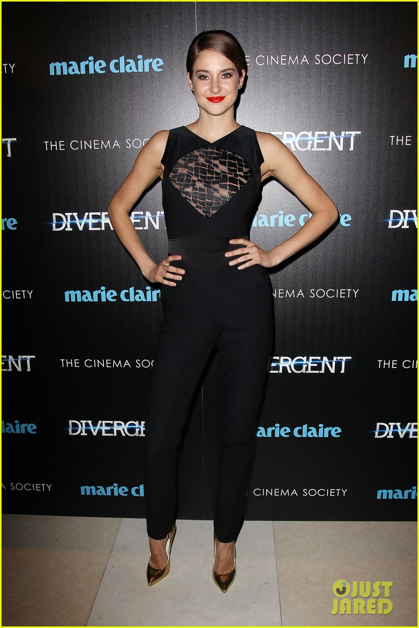 shailene woodley theo james divergent nyc screening 193075668