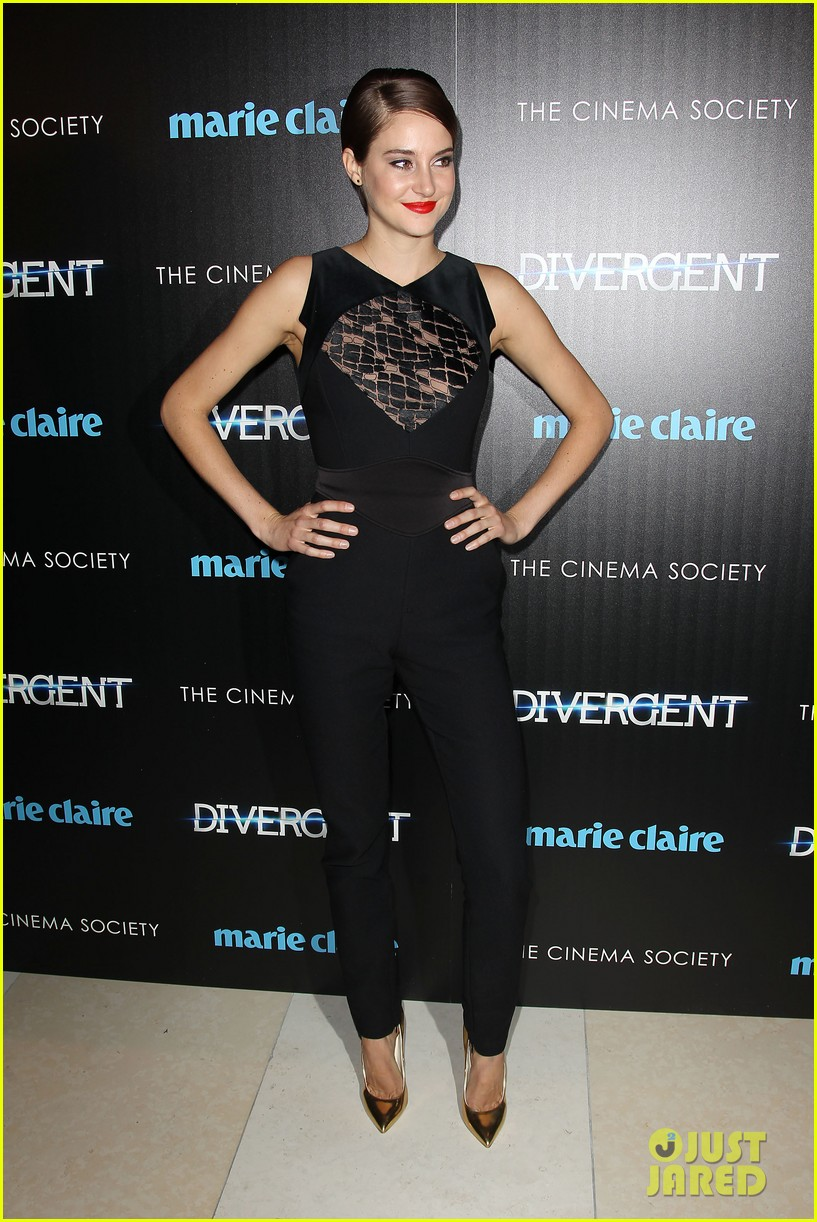 shailene woodley theo james divergent nyc screening 213075670