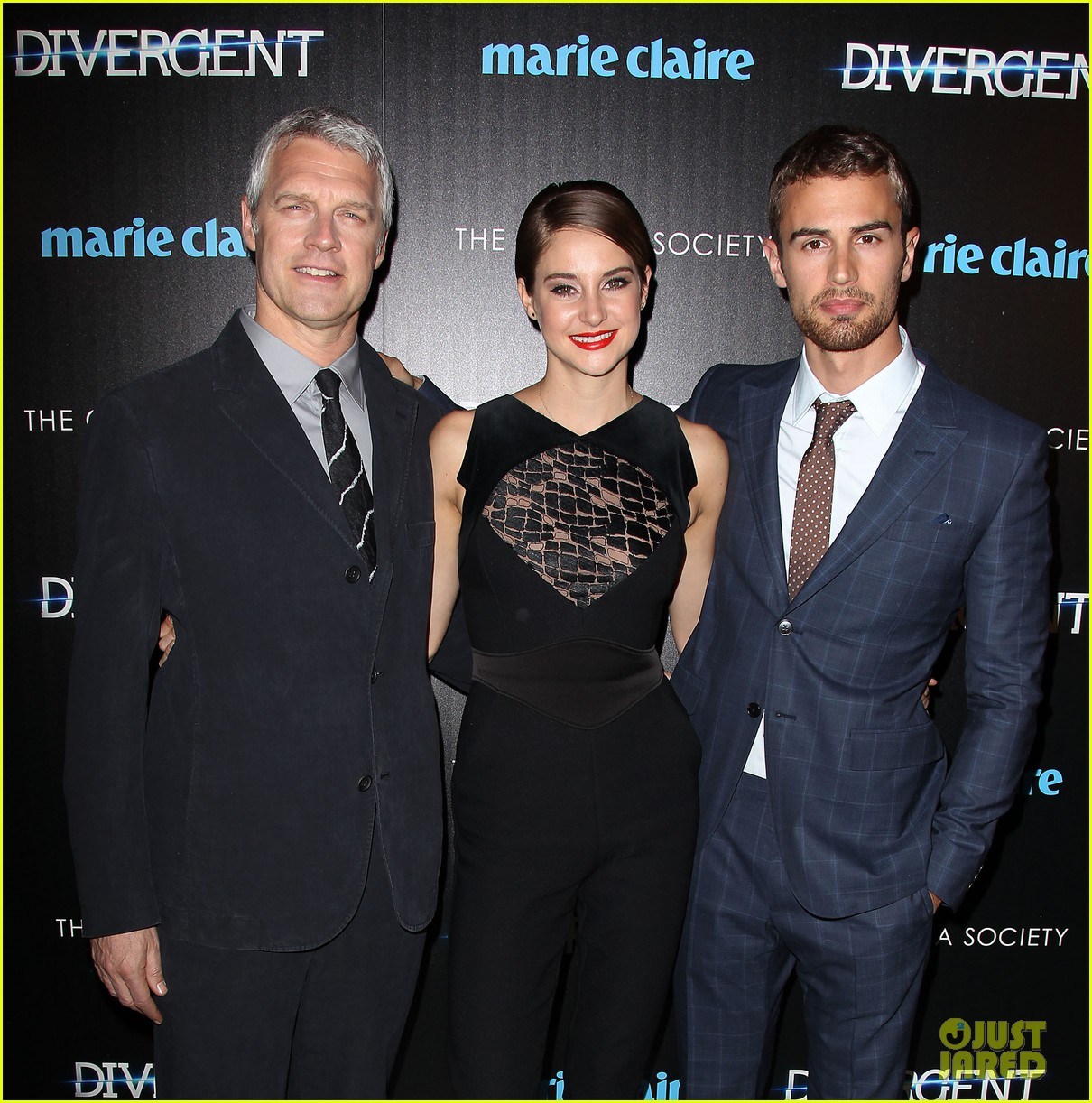 shailene woodley theo james divergent nyc screening 283075677