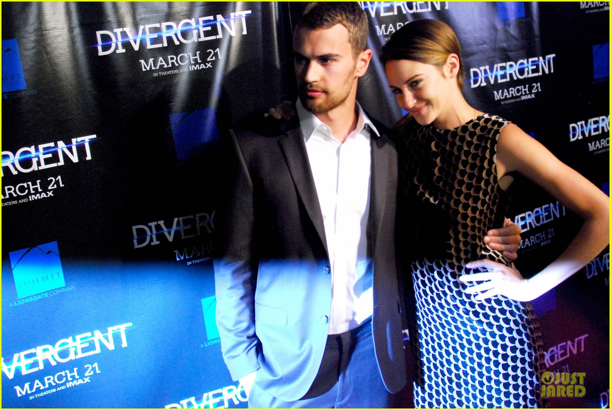 shailene woodley theo james continue to invest in divergent 023066227