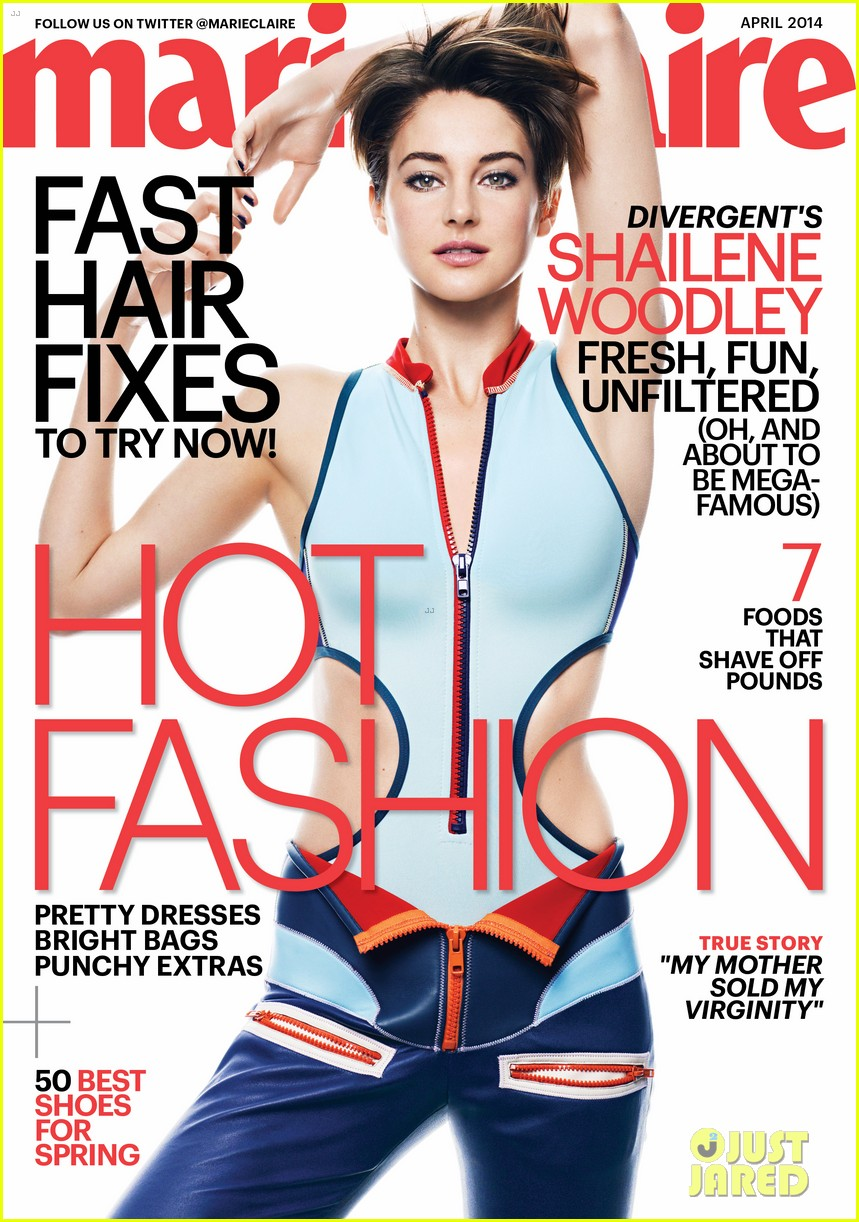 shailene woodley marie claire april 2014 033073291
