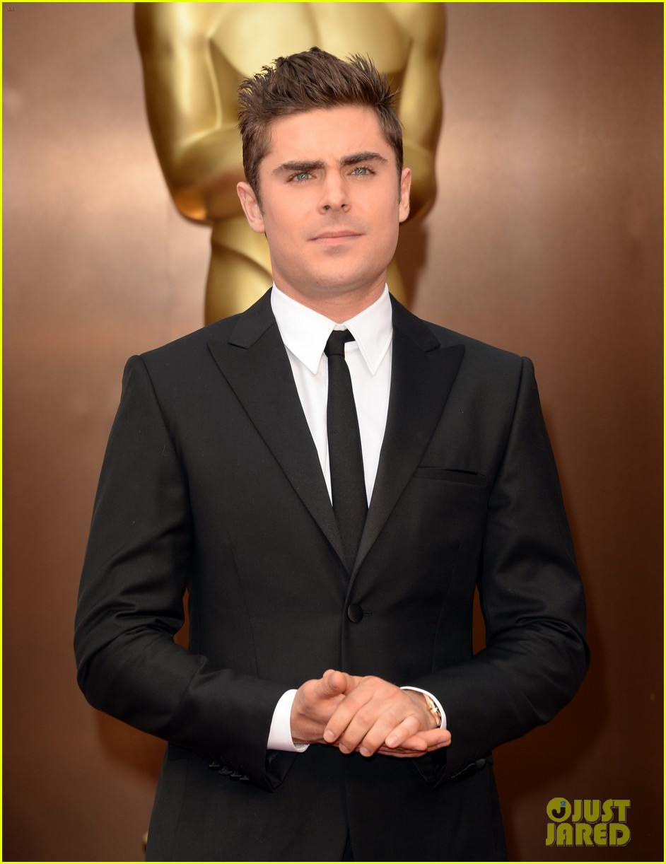 zac efron oscars 2014 red carpet 023064014