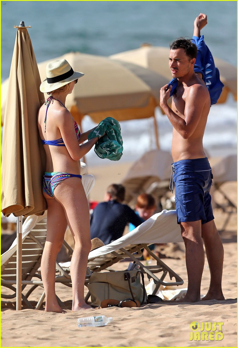 candice accola bikini fiance joe king miami 243093155