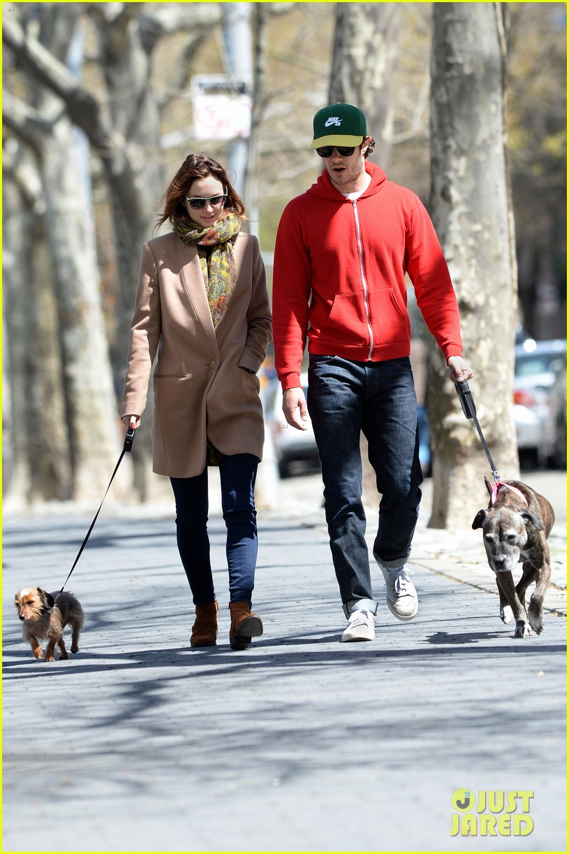 leighton meester adam brody first post marriage sighting nyc 023100385