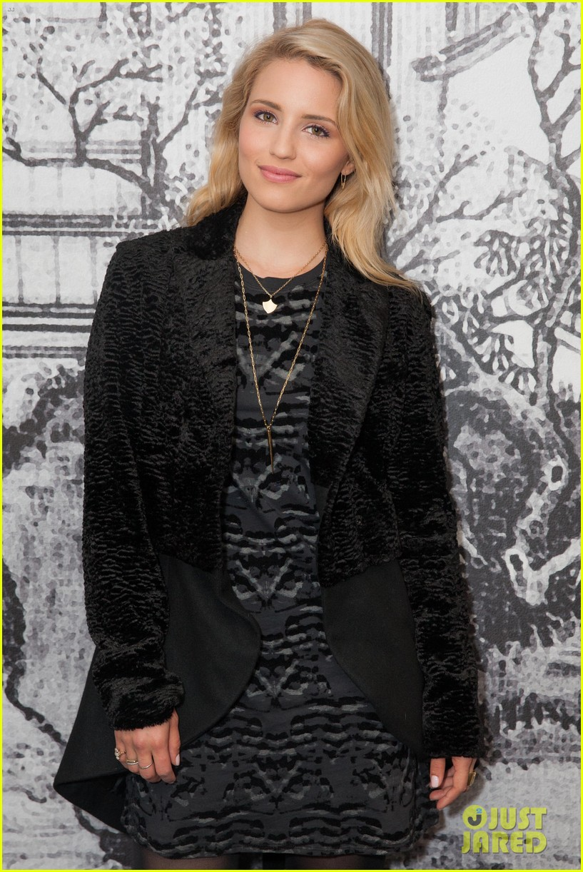 dianna agron steps out for secret alunageorge show at w hotel 063094467