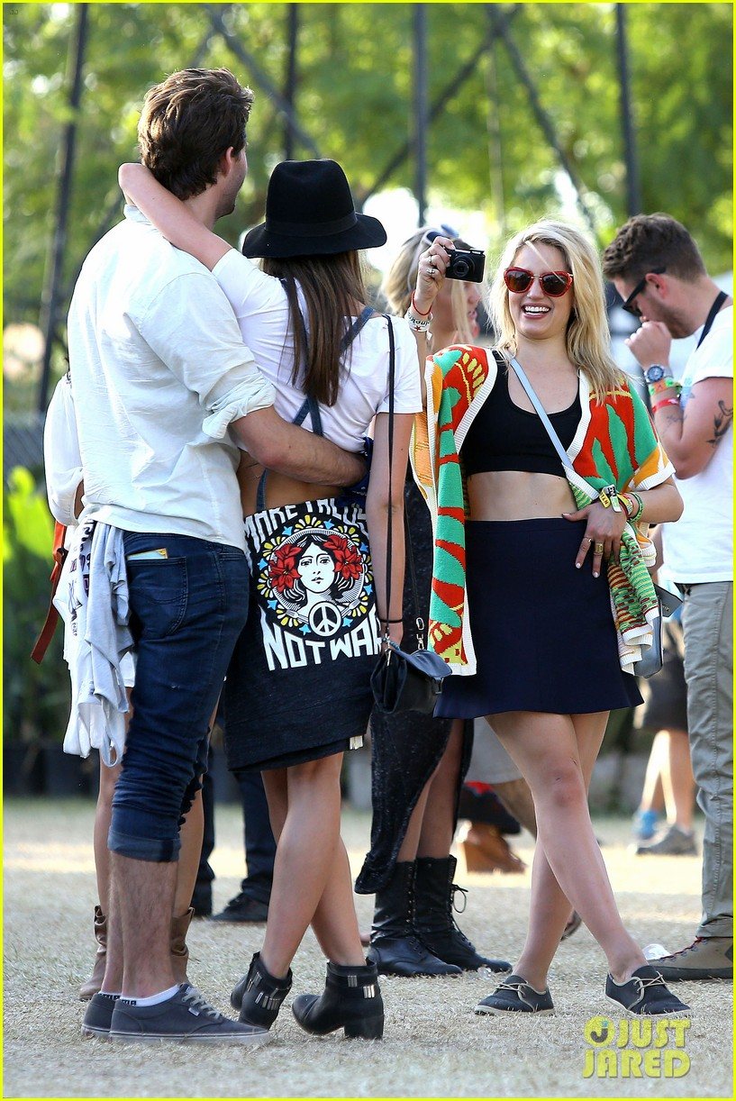 dianna agron captures coachella moments thomas cocquerel 073091775