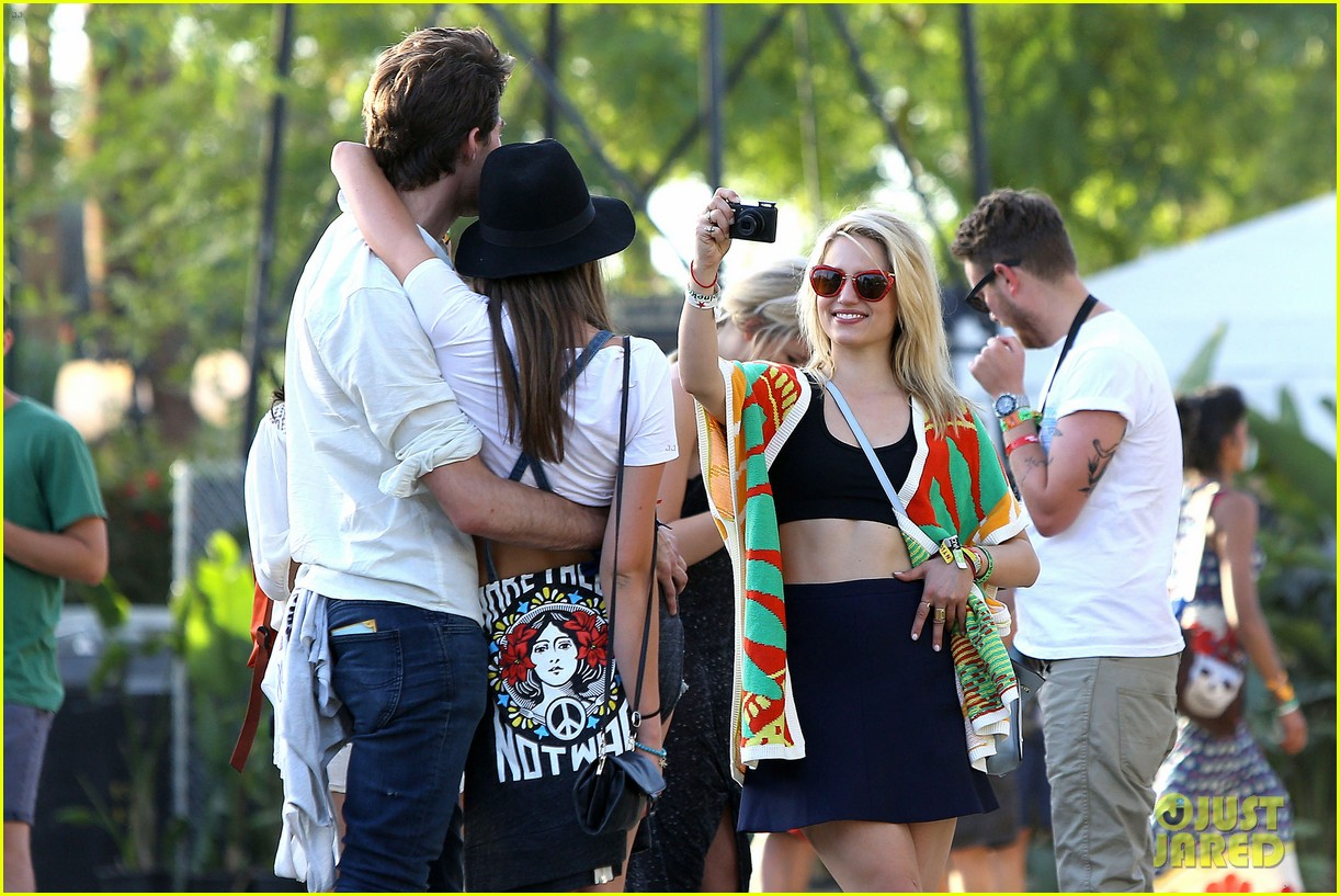 dianna agron captures coachella moments thomas cocquerel 08