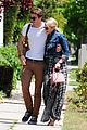 dianna agron gets cozy with thomas cocquerel at lunch 05