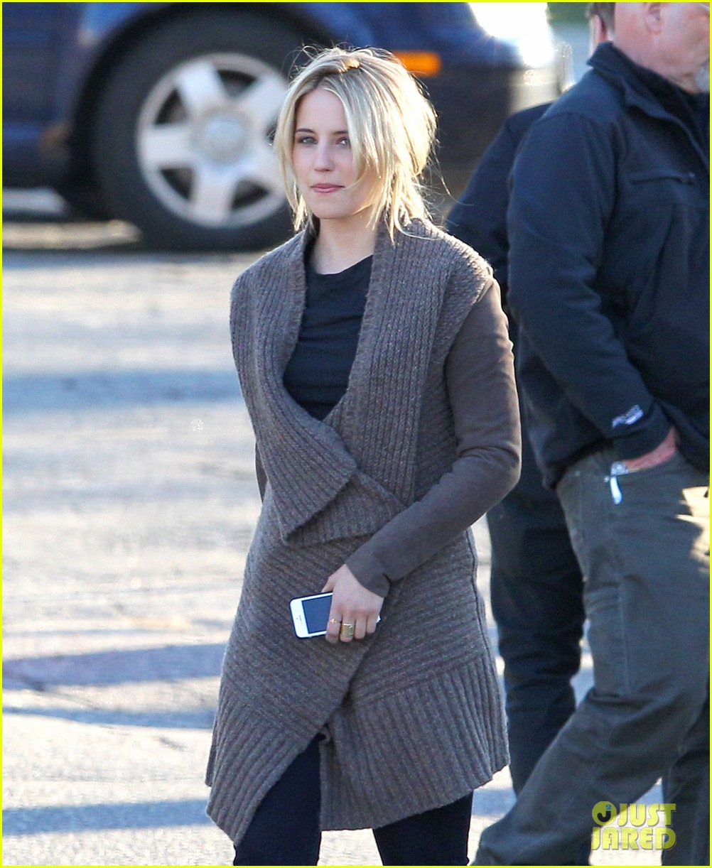 dianna agron first day on tumbledown has her in two cute outfits 023086962