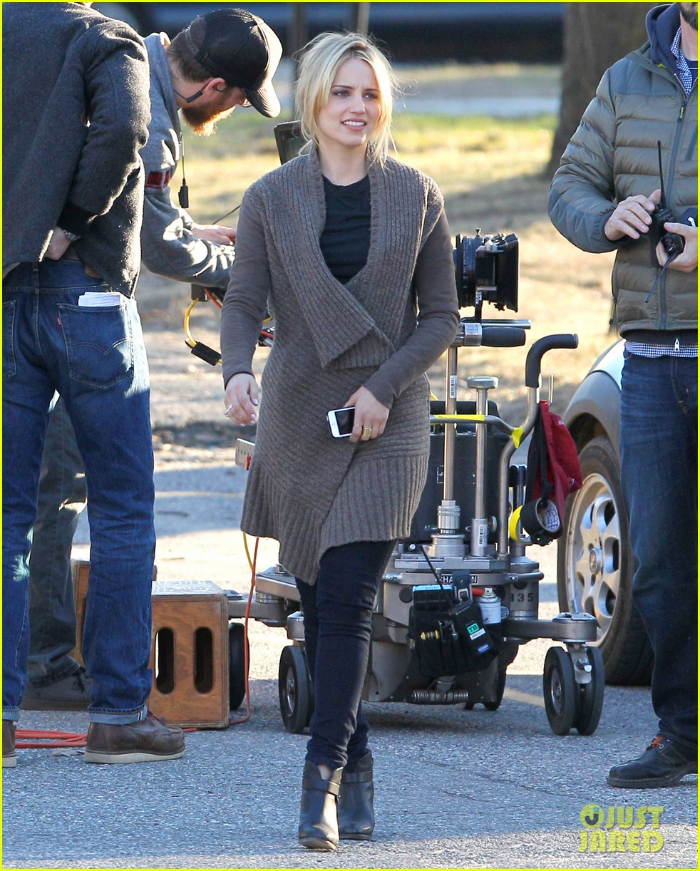dianna agron first day on tumbledown has her in two cute outfits 053086965