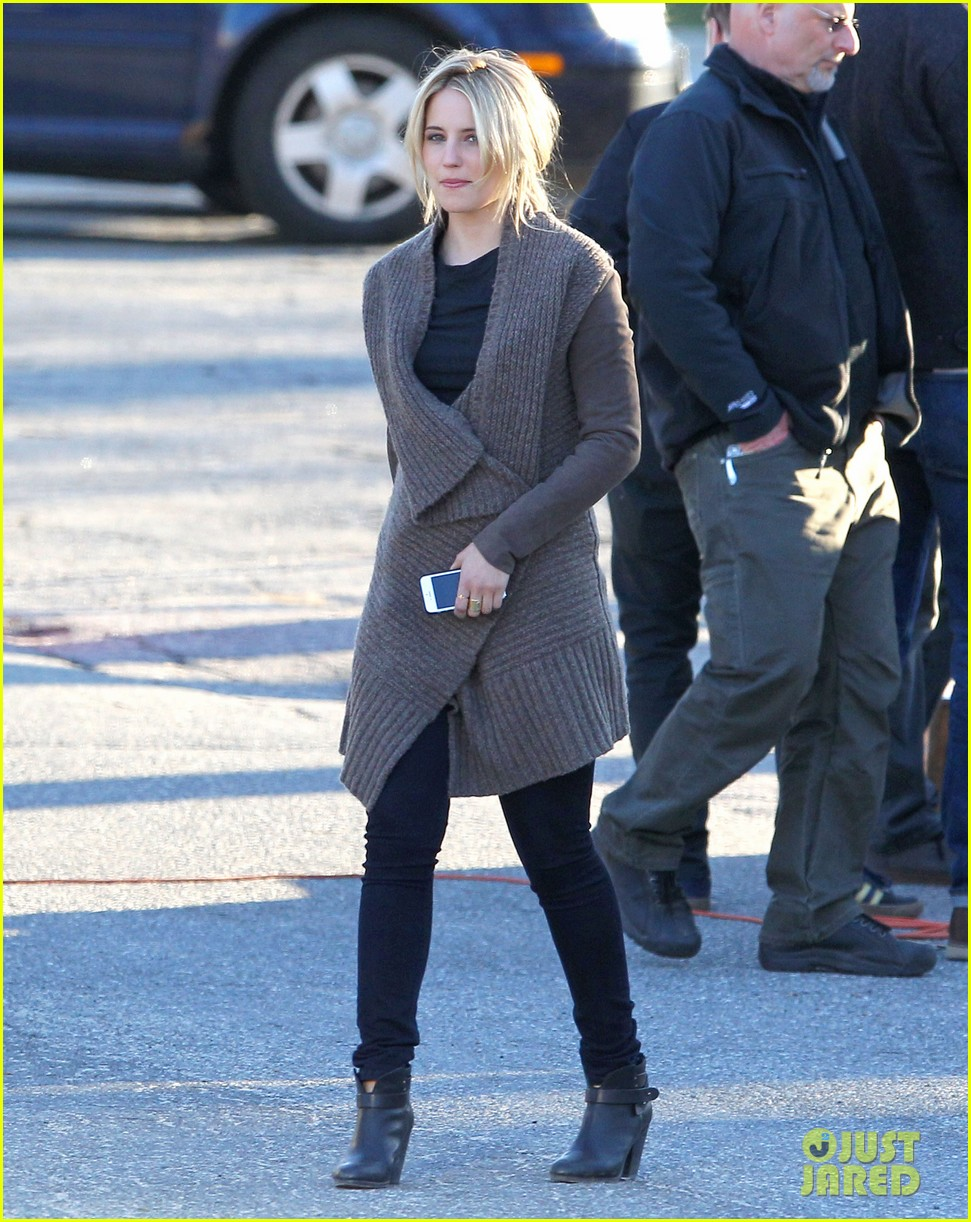 dianna agron first day on tumbledown has her in two cute outfits 093086969