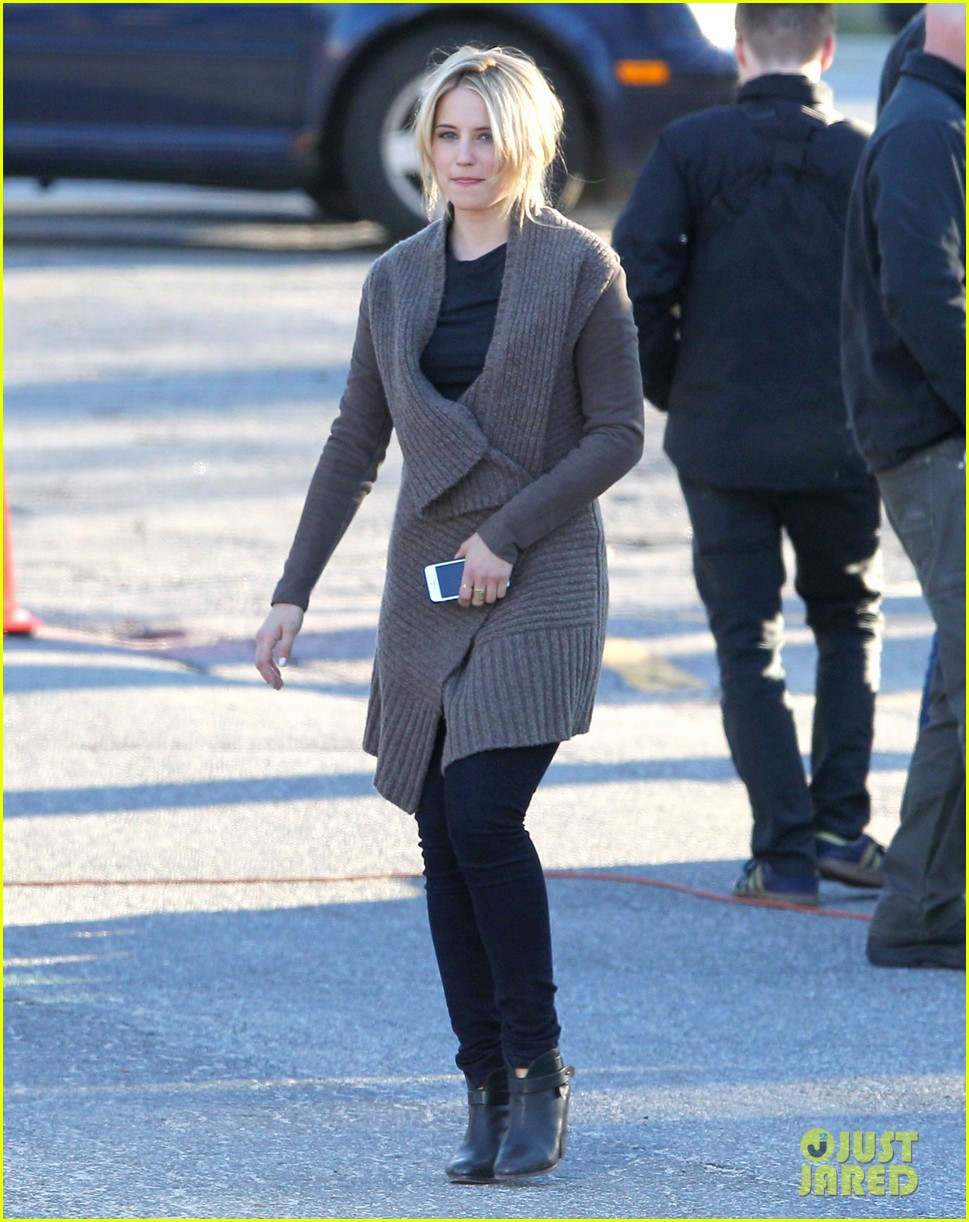 dianna agron first day on tumbledown has her in two cute outfits 103086970
