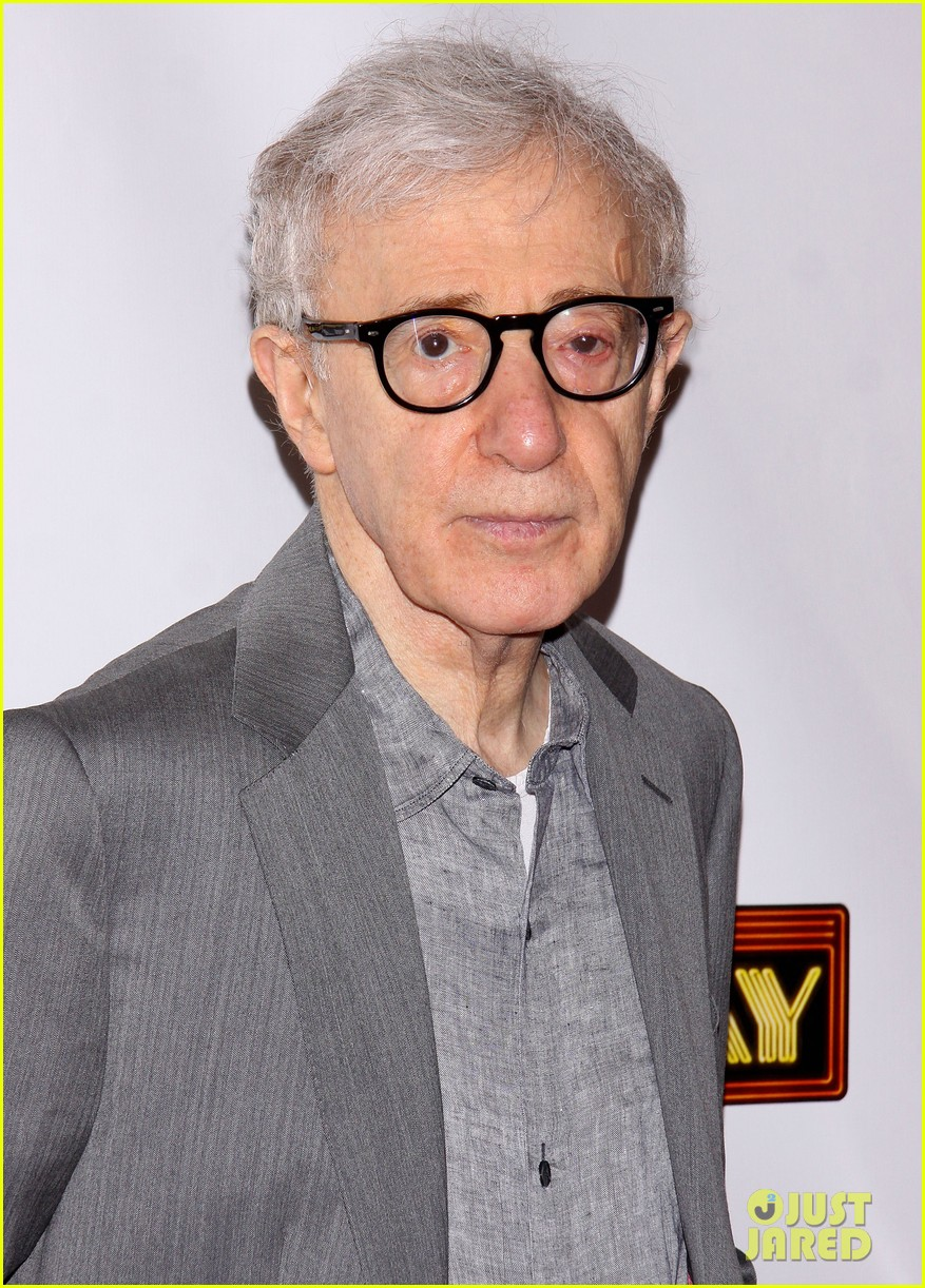 woody allen celebrates his broadway show bullets over broadways opening night 09