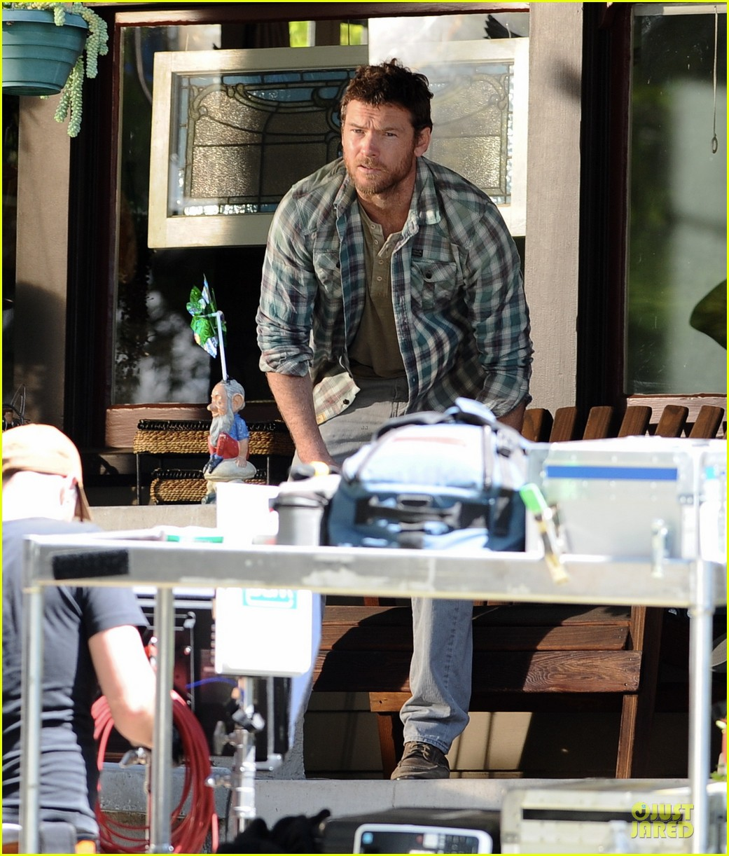 jennifer aniston sam worthington acting is a piece of cake 033086480
