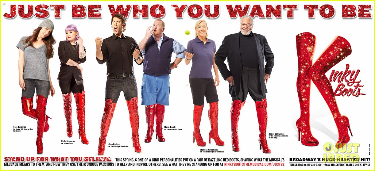 sara bareilles kelly osbourne kinky boots charity 033099323