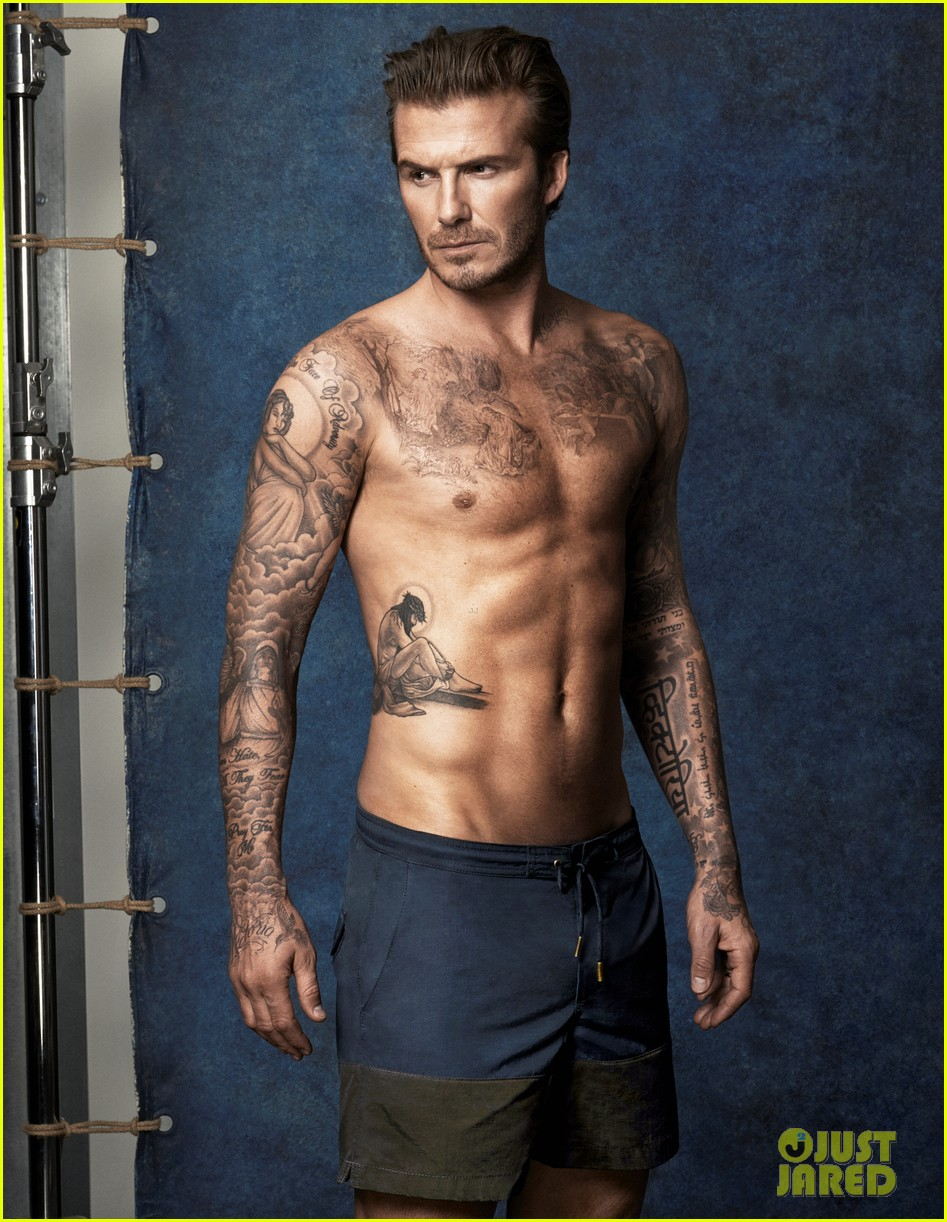 david beckhams buff shirtless bod is on display for new hm ads 013083913