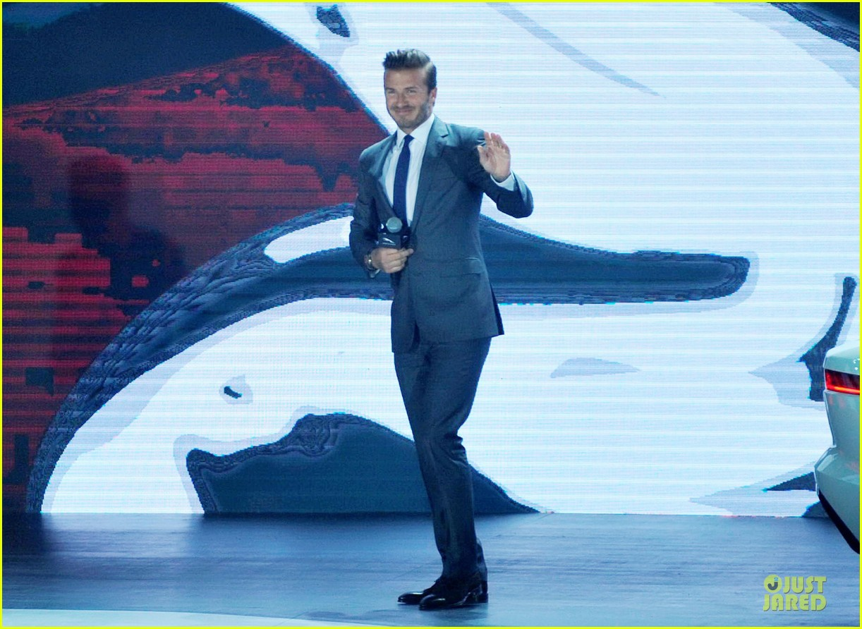 david beckham wow us without driving jaguar 013096017