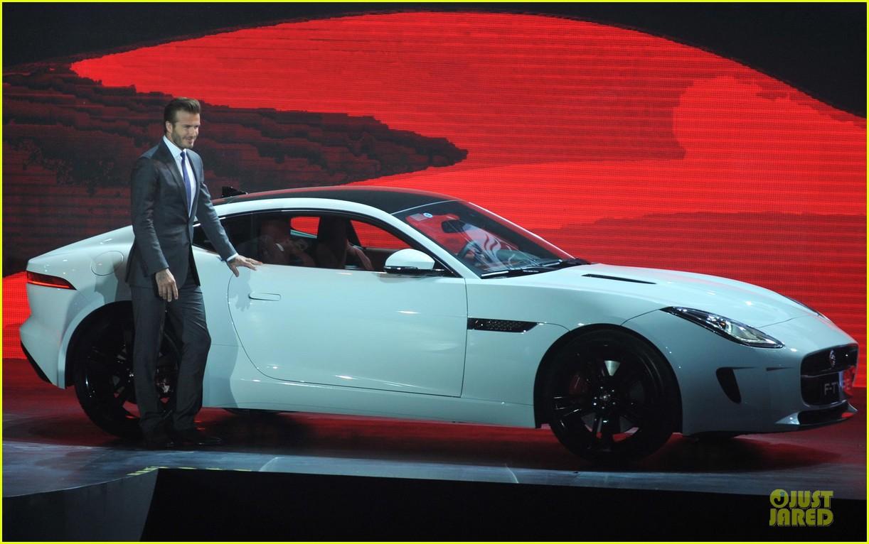 david beckham wow us without driving jaguar 063096022