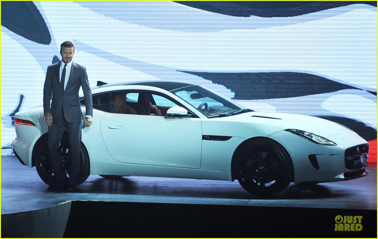 david beckham wow us without driving jaguar 083096024