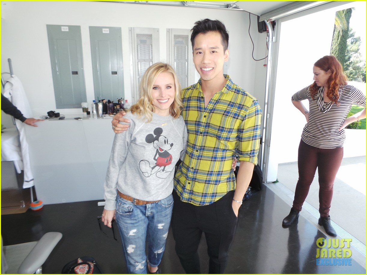 kristen bell just jared spotlight behind the scenes 173086991