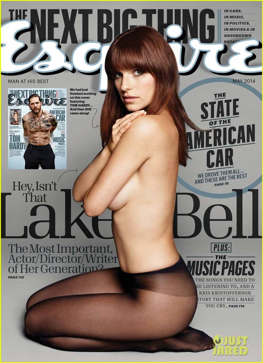 lake bell strips down topless displays amazing figure for esquire 013092718