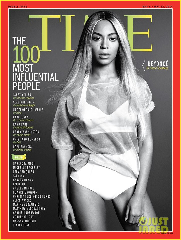 beyonce covers times 100 influential people issue 013098093