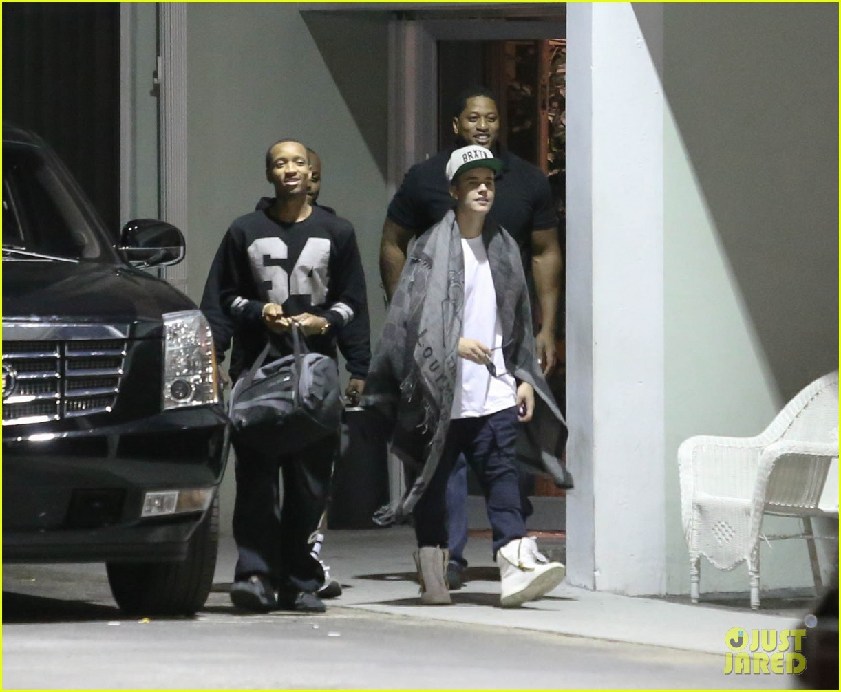 justin bieber records at the hit factory with lil wayne birdman 01