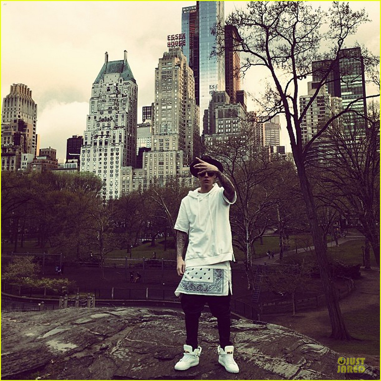 justin bieber wanted to propose in central park 013099821